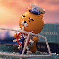 天猫U先:POP MART 泡泡玛特 Kakao Friends航海系列 盲盒 1个