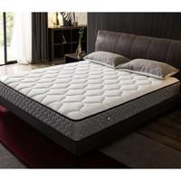 1日0点:QuanU 全友 105111 天然乳胶+硬椰丝热熔棉床垫 150*200cm