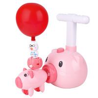 智慧鱼 会飞的小猪 动力气球车 升级可飞天