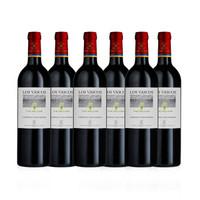 LAFITE 拉菲 罗斯柴尔德 巴斯克惟乐 赤霞珠红葡萄酒 750ml*6瓶