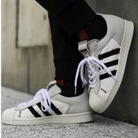 1日0点:adidas 阿迪达斯 三叶草 SUPERSTAR WS1 男女经典运动鞋