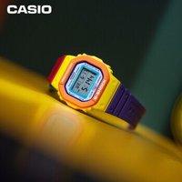 1日0点:CASIO 卡西欧  G-SHOCK 霓虹多彩系列 DW-5610DN-9 防震防水电子表