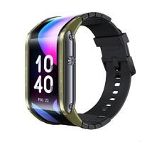 双11预售:nubia 努比亚 Nubia Watch 柔性屏智能手表 战甲绿