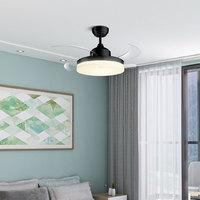 双11预售:OPPLE 欧普照明 黑色隐形风扇灯 非智能遥控器款