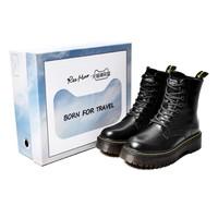 双11预售:reemoor 睿慕 马丁靴礼盒(内含鞋子1双+定制鞋盒1个+扣件配饰6个)