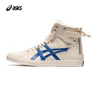 双11预售:ASICS亚瑟士 DOUBLE CLUTCH 加绒高帮复古运动休闲鞋