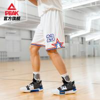 匹克路威黑金运动篮球短裤男2020秋季新款宽松透气运动休闲五分裤