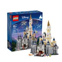 1日0点、考拉海购黑卡会员:LEGO 乐高 迪士尼系列 71040 迪士尼乐园城堡