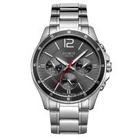 1日0点、考拉海购黑卡会员:CASIO 卡西欧 MTP-1374D-1A 男士时装腕表