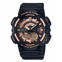 银联返现购:CASIO 卡西欧 AEQ110W-1A3V 男士手表