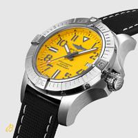 双11预售:BREITLING 百年灵 A17319101I2X1 男女款复仇者黄狼深潜海狼机械腕表