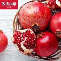 京东PLUS会员:NONGFU SPRING 农夫山泉 四川软籽甜石榴 单果390-450 7粒装
