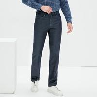 双11预售:九牧王 JJ196011T 保暖加绒牛仔裤