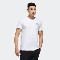 1日0点:adidas 阿迪达斯 GFX T BALL 男装短袖T恤