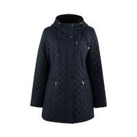 考拉海购黑卡会员:Calvin Klein CW822300 女士中长款棉服外套