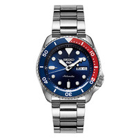 双11预售、京东PLUS会员:SEIKO 精工 5号系列 SRPD53K1 可乐圈男士机械手表