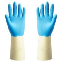 IKEA 宜家 鲍奇斯 橡胶手套 蓝色 中号