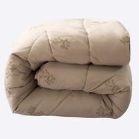 J.H.Longess 布之美 加厚蓬松保暖驼毛被 200*230cm 约8斤