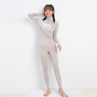 爱美丽ZUBISU联名Celwarm热粒萌趣衣打底长袖长裤热力衣保暖套装