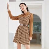 双11预售:Eifini 伊芙丽 1BA998221 女士假两件连衣裙