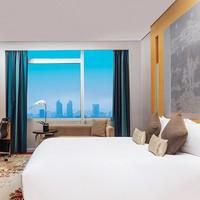 双11预售:周末/节假日不加价!上海龙之梦大酒店豪华房1-2晚套餐(含双早)
