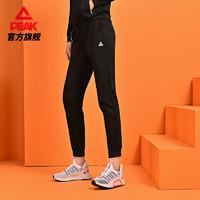 匹克运动裤女2020新款抓毛长裤加厚冬季运动加绒保暖卫裤休闲裤女