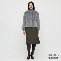 UNIQLO 优衣库 UQ428329000  女装无领茄克