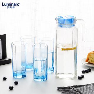 法国乐美雅热水壶套装扎壶凉水壶玻璃壶玻璃杯高颜值家用水壶套装