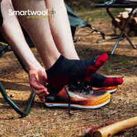Smartwool PhD 跑步轻量低筒袜 透气运动袜 美利奴羊毛袜W243