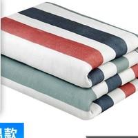 侈放 时尚条纹 学生宿舍单人电热毯 1.5*0.7cm