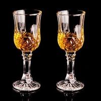 Flavinmci 弗莱文茨 无铅水晶玻璃杯 15.5cm 120ml 2只装