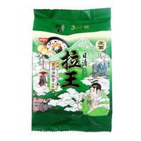 日清 方便面 拉王 九州黑蒜油豚骨风味 105g*3袋 *2件