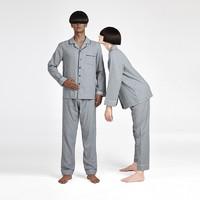双11预售:DAPU 大朴 AE3F12205 男女款秋冬家居服套装
