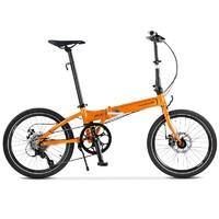 DAHON 大行 D8 KBA083 折叠自行车 碟刹版 丽面橙
