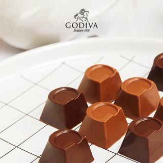 GODIVA歌帝梵精选立方巧克力网红分享装20颗装 零食小吃 休闲食品