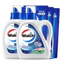 88VIP:Walch 威露士 有氧倍净洗衣液(1kg*2瓶+500g*3袋) *3件