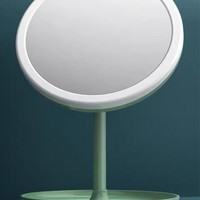 莱杉 显色led灯化妆镜 单色光 充电豪华款+数据线