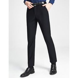 相思鸟 NMDKS1K1702 男士直筒厚款休闲裤