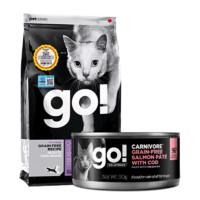 评论有奖、双11预售:Go! 无谷九种肉全猫粮 16磅+主食罐90g