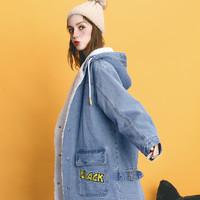 双11预售:a02 DTU6D0061CT 女款时尚羊羔绒外套