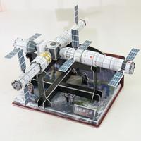 OLOEY 航天3d立体拼图 中国太空站