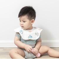 双11预售:十月结晶 婴儿口水巾围嘴 6条