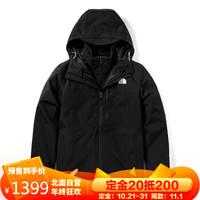 双11预售:TheNorthFace 北面 NF0A4R2H 男士冲锋衣