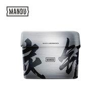 蔓珠 Mandu 活性炭银离子冰箱除味剂150g+威猛先生 84消毒液 清新花香 500g