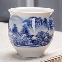 厨什汇 双层陶瓷杯 多款可选