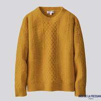 UNIQLO 优衣库 422608 女款圆领针织衫