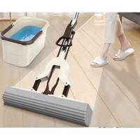 优仕迈 吸水海绵挤水拖把 加强杆对折 28cm