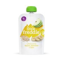 LittleFreddie 小皮 燕麦香蕉苹果泥宝宝辅食泥 100g*1袋 *2件