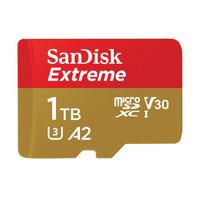 双11预售:SanDisk 闪迪 Extreme 至尊极速移动版 512GB TF(MicroSD)存储卡
