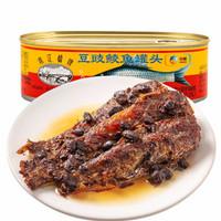珠江桥 豆豉鲮鱼罐头 207g *11件